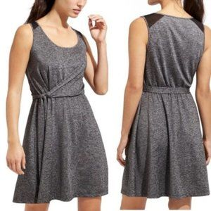 Athleta Sweet Saturday Dress Heather Grey Small